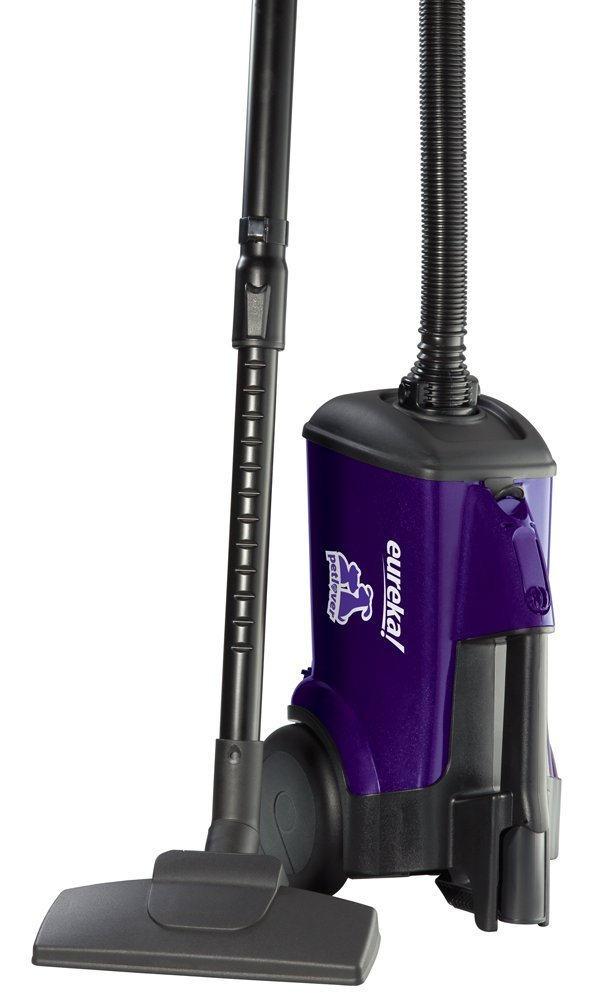 Eureka Mighty Mite Bagged Canister Vacuum Cleaner Pet, 3684F-Violet
