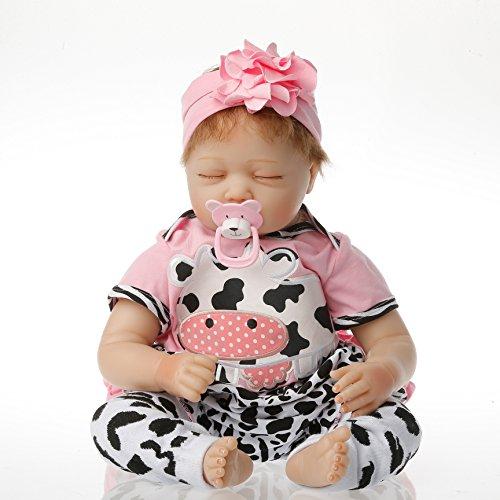 Full Silicone Reborn Baby Doll realistic dolls Soft Vinyl Ba