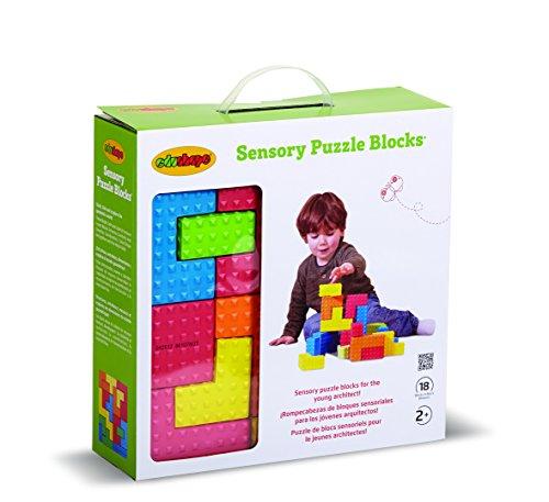 Edushape Easy grip Sensory Puzzle Blocks product image