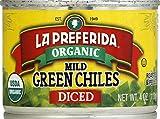 La Preferida Chile Green Diced Mild Organic, 4 oz