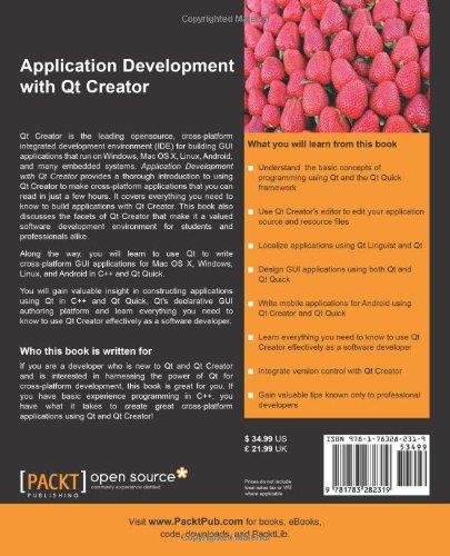 Application Development with Qt Creator: Amazon co uk: Ray