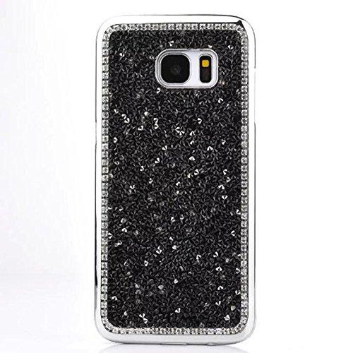 Galaxy S7 Case,Jesiya New Luxury Sparkle Powder 3D Diamond B