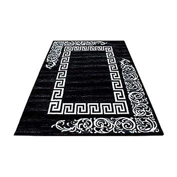 Teppich Modern Designer Wohnzimmer Versace Muster Barock Motiv