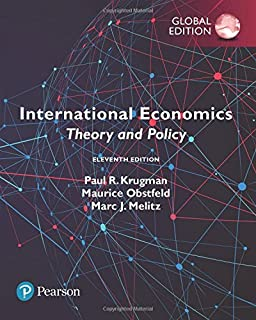 International economics theory and policy 6th edition paul r international economics theory and policy global edition fandeluxe Images