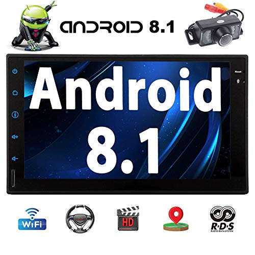 - Android 8.1 Car Stereo 7 Inch HD Digital Multi-touch Screen Bluetooth Head Unit Car Radio In-Dash Video Player Support Wifi GPS Navigation 1080p Video OBD2 Rear Camera Car Logo Wallpaper EQ Setting