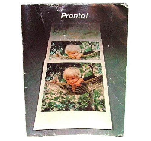 Instruction Manual - Polaroid Pronto! Instant Land Camera - Polaroid Land Camera Pronto Film