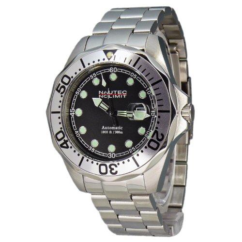 Nautec No Limit Men's Watch(Model: DSB AT/STSTSLBK)