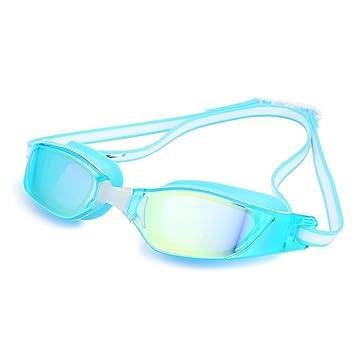 A-Fort Gafas de natación, Gafas de natación polarizadas con Lente de Espejo/