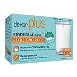 #2: Diaper Dekor Plus Diaper Pail Liner Refills Biodegradable, 4 Count