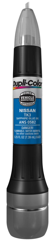 Amazon.com: Dupli-Color ANS0595 Metallic Platinum Nissan Exact ...
