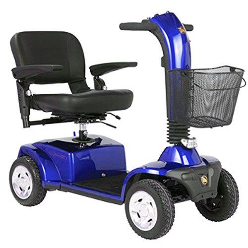 Companion II 4 Wheel Scooters - Blue