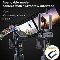 K&F Concept TL224 Trípode Cámara Réflex Viaje para iPhone Sumsung ...
