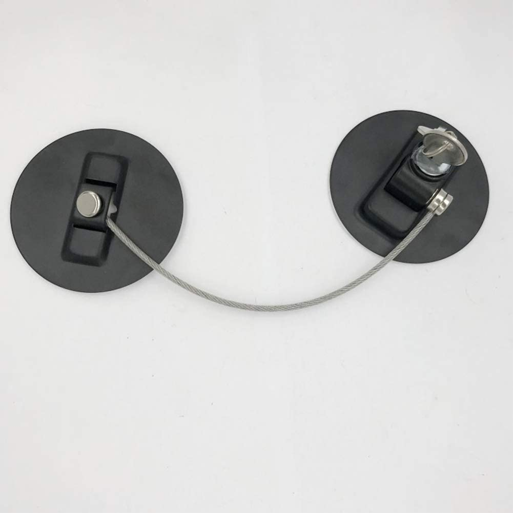 Child Safety Lock Window Kids Security Refrigerator Door Lock Limit with Key