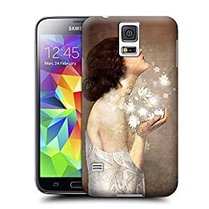 Unique Phone Case Innovation girl-06 Hard Cover for samsung galaxy s5 cases-buythecase