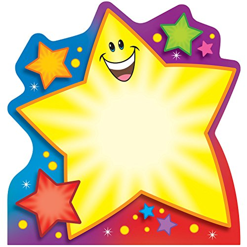 (Trend Enterprises Super Star Shaped Note Pad (TEPT72066))