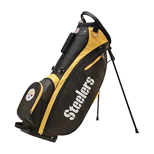 Wilson 2018 NFL Carry Golf Bag, Pittsburgh -