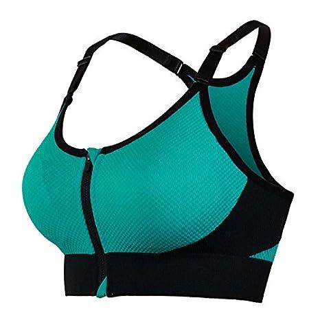 Delgado sudor corriendo sujetador deportivo shock absorber (yoga) , s: Amazon.es: Deportes y aire libre