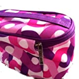 NEW! CLINIQUE Floral Makeup Travel Cosmetic Bag with handle