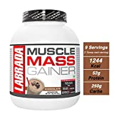 Labrada Muscle Mass Gainer, 6.6 lbs - 3 kg (Chocolate)