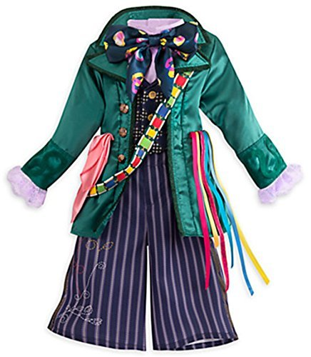 Disney Store Kids Alice Through Looking Glass Mad Hatter 3 Piece Costume (9/10)