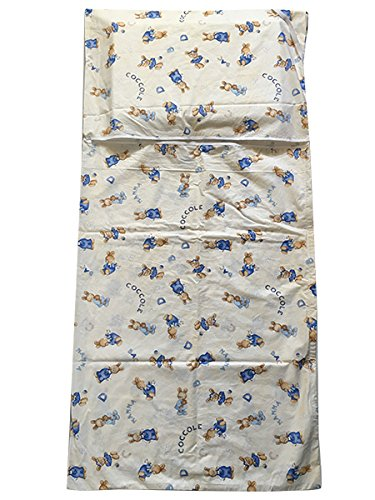Saco dormir Guardería de Verano 2 - 6 años Coniglietti Coccole Panna: Amazon.es: Bebé