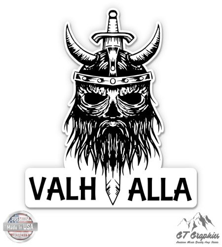 GT Graphics Valhalla Viking Head - 5