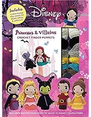 Disney Princesses & Villains: Crochet Finger Puppets