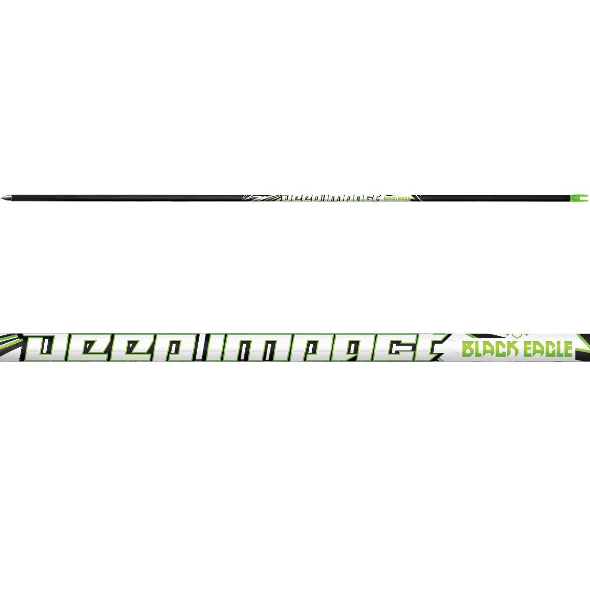 Black Eagle Deep Impact Dozen Shafts-300 Spine-.001 +/-
