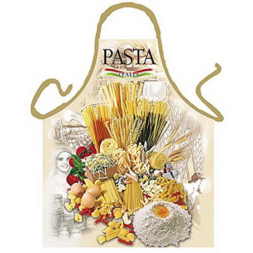 Italienische Schürze - Pasta Italia - Kochschürze Nudeln - mit Urkunde