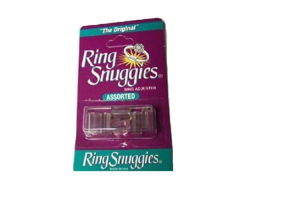 Anello troppo grande? Adattatori in plastica per anelli, riduttori, confezione da 6 A&M Trading