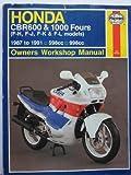 Haynes Honda CBR 600 and 1000 87-91, Coombs, Mark, 1850107300