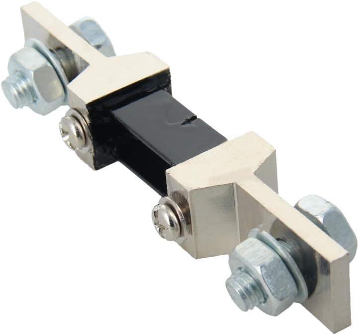 Fielect 1Pcs DC Current Meter Shunt Resistor Resistance for DC Ammeter 123 x 20mm FL-2 300A