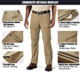MAGCOMSEN Men's Hiking Pants with 5 Pockets Quick