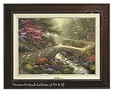 Thomas Kinkade Bridge of Faith 12'' X 16'' Canvas Classic (Espresso)
