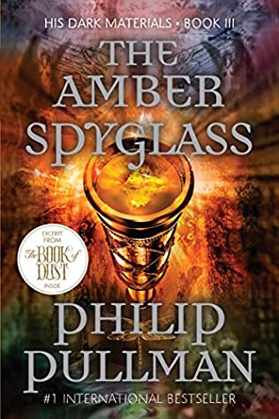 book cover of The Amber Spyglass