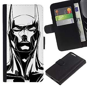 KingStore / Leather Etui en cuir / Apple Iphone 6 PLUS 5.5 / ;