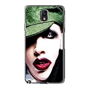 AshleySimms Samsung Galaxy Note3 Shockproof Hard Phone Case Support Personal Customs Fashion Marilyn Manson Band Pictures [YBt2412KYtP]