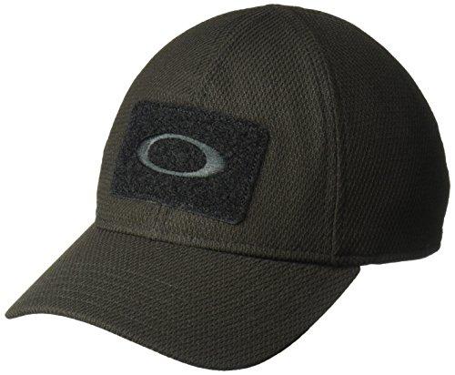 Oakley Men's SI Cap, Jet Black, S/M
