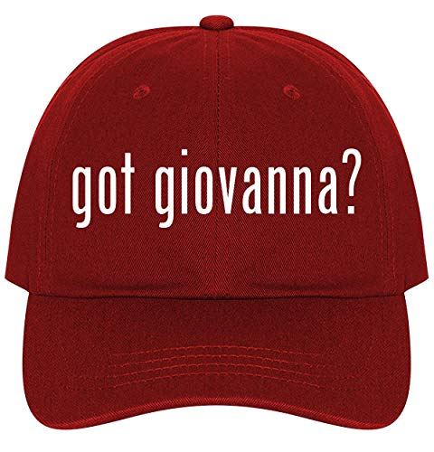 got Giovanna? - A Nice Comfortable Adjustable Dad Hat Cap, Red, One Size ()