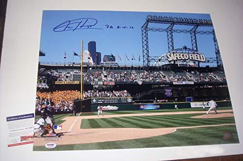 - Felix Hernandez Seattle Mariners Autographed Signed 16x20 Pg 8-15-12 PSA Cert Coa Free Ship