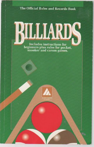 Billards (The Official Rules and Records Book)