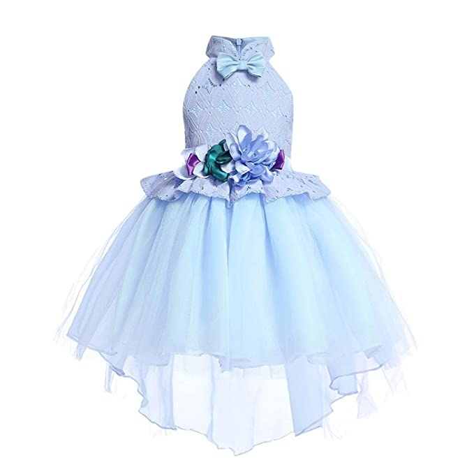 4fa2bc05857d Amazon.com  KONFA Teen Toddler Baby Girls Party Flower Bridesmaid ...