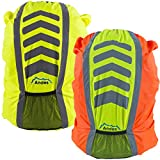 Andes High Vis Waterproof Running/Cycling Rucksack Backpack Rain Co
