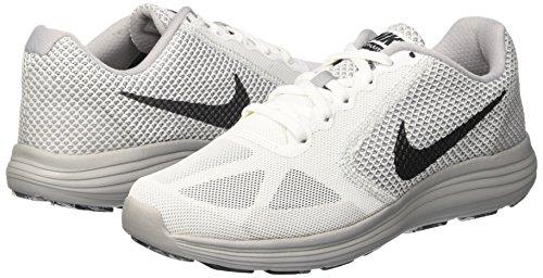 3 Blanc Nike black Grey De Revolution white Homme wolf Hematite Running Cassé Chaussures mtlc qYU5TSxwU