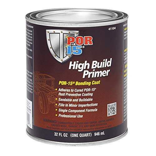 POR-15 41104 High Build Primer - 1 quart (Packaging may Vary)