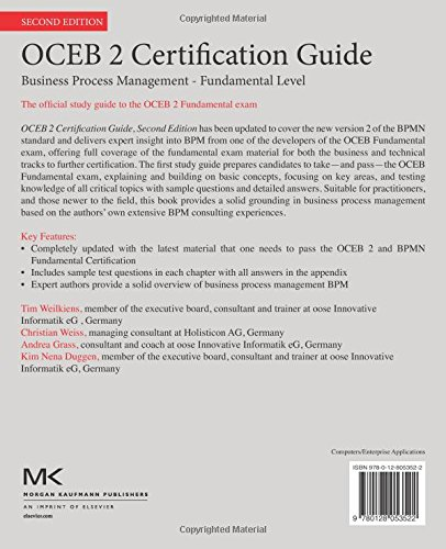 Buy OCEB 2 Certification Guide: Business Process Management ...