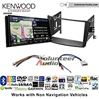 Volunteer Audio Kenwood Excelon DNX994S Double Din Radio Install Kit with GPS Navigation Apple CarPlay Android Auto Fits 2010-2014 Subaru Legacy, Outback