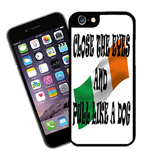 Irish Olympic Rowing Team Quote 'Close the Eyes and Pull like a Dog' iPhone case - This cover will fit Apple model iPhone 6s (not 6 plus) - By Eclipse Gift Ideas