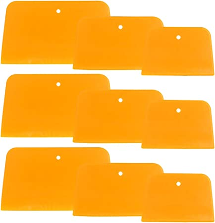 5 Set of 9 Body Filler Spreaders Automotive Body Fillers 6 Inch For DaKuan 4