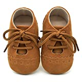 Newborn Girls Boys Shoes HEHEM Walking Shoes Infant Shoes Baby Toddler Shoes Sneaker Anti-Slip Soft Sole Lace Up Shoes Toddler Shoes Infant Boots Baby Toddler Shoes